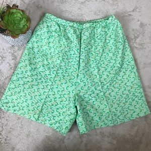 ** Vintage Miss Holly Textured Shorts - Japan
